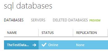 DatabaseOnline